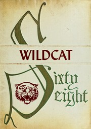 1968 Edition, Dade County High School - Wildcat Yearbook (Trenton, GA)