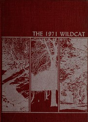 1971 Edition, Dade County High School - Wildcat Yearbook (Trenton, GA)