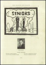 Page 11, 1935 Edition, Brunswick High School - Orange Black Yearbook (Brunswick, ME) online yearbook collection