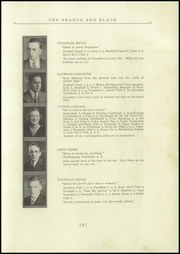 Page 13, 1935 Edition, Brunswick High School - Orange Black Yearbook (Brunswick, ME) online yearbook collection