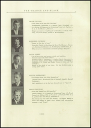 Page 15, 1935 Edition, Brunswick High School - Orange Black Yearbook (Brunswick, ME) online yearbook collection
