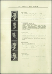 Page 16, 1935 Edition, Brunswick High School - Orange Black Yearbook (Brunswick, ME) online yearbook collection