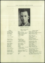 Page 8, 1935 Edition, Brunswick High School - Orange Black Yearbook (Brunswick, ME) online yearbook collection