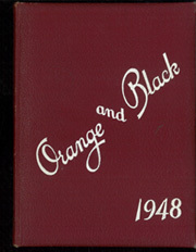 1948 Edition, Brunswick High School - Orange Black Yearbook (Brunswick, ME)