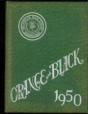 1950 Edition, Brunswick High School - Orange Black Yearbook (Brunswick, ME)