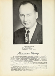 Page 8, 1950 Edition, Brunswick High School - Orange Black Yearbook (Brunswick, ME) online yearbook collection