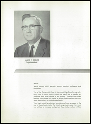 Page 6, 1957 Edition, Brunswick High School - Orange Black Yearbook (Brunswick, ME) online yearbook collection