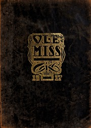 University of Mississippi - Ole Miss Yearbook (Oxford, MS) online yearbook collection, 1917 Edition, Page 1