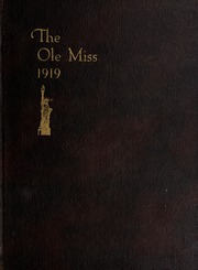 Page 1, 1919 Edition, University of Mississippi - Ole Miss Yearbook (Oxford, MS) online yearbook collection