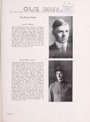 Page 15, 1919 Edition, University of Mississippi - Ole Miss Yearbook (Oxford, MS) online yearbook collection