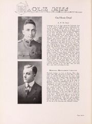Page 16, 1919 Edition, University of Mississippi - Ole Miss Yearbook (Oxford, MS) online yearbook collection