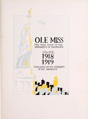 Page 7, 1919 Edition, University of Mississippi - Ole Miss Yearbook (Oxford, MS) online yearbook collection