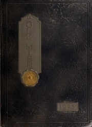 Page 1, 1925 Edition, University of Mississippi - Ole Miss Yearbook (Oxford, MS) online yearbook collection