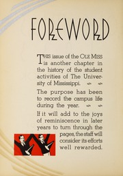 Page 10, 1933 Edition, University of Mississippi - Ole Miss Yearbook (Oxford, MS) online yearbook collection