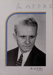Page 16, 1936 Edition, University of Mississippi - Ole Miss Yearbook (Oxford, MS) online yearbook collection