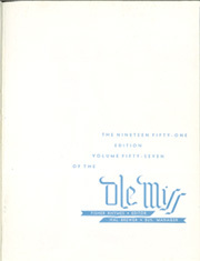 Page 3, 1951 Edition, University of Mississippi - Ole Miss Yearbook (Oxford, MS) online yearbook collection