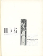 Page 3, 1953 Edition, University of Mississippi - Ole Miss Yearbook (Oxford, MS) online yearbook collection