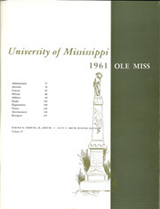 Page 3, 1961 Edition, University of Mississippi - Ole Miss Yearbook (Oxford, MS) online yearbook collection