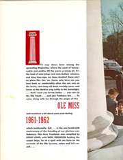 Page 4, 1962 Edition, University of Mississippi - Ole Miss Yearbook (Oxford, MS) online yearbook collection