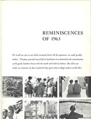 Page 7, 1963 Edition, University of Mississippi - Ole Miss Yearbook (Oxford, MS) online yearbook collection