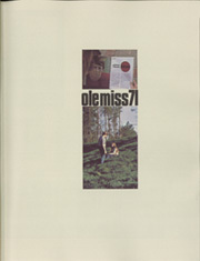 Page 3, 1971 Edition, University of Mississippi - Ole Miss Yearbook (Oxford, MS) online yearbook collection