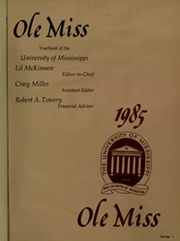 Page 5, 1985 Edition, University of Mississippi - Ole Miss Yearbook (Oxford, MS) online yearbook collection