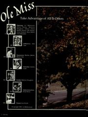 Page 6, 1985 Edition, University of Mississippi - Ole Miss Yearbook (Oxford, MS) online yearbook collection