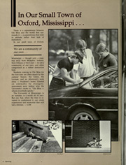 Page 8, 1985 Edition, University of Mississippi - Ole Miss Yearbook (Oxford, MS) online yearbook collection