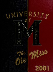 University of Mississippi - Ole Miss Yearbook (Oxford, MS) online yearbook collection, 2001 Edition, Page 1