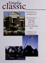 Page 5, 2003 Edition, University of Mississippi - Ole Miss Yearbook (Oxford, MS) online yearbook collection