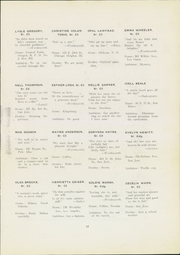 Page 21, 1921 Edition, San Jose State College - La Torre Yearbook (San Jose, CA) online yearbook collection