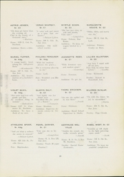 Page 23, 1921 Edition, San Jose State College - La Torre Yearbook (San Jose, CA) online yearbook collection