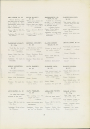 Page 29, 1921 Edition, San Jose State College - La Torre Yearbook (San Jose, CA) online yearbook collection