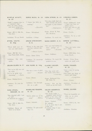 Page 31, 1921 Edition, San Jose State College - La Torre Yearbook (San Jose, CA) online yearbook collection