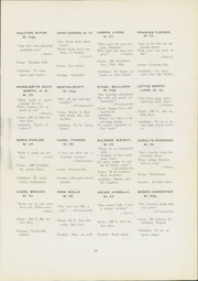 Page 33, 1921 Edition, San Jose State College - La Torre Yearbook (San Jose, CA) online yearbook collection