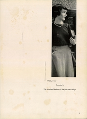 Page 3, 1952 Edition, San Jose State College - La Torre Yearbook (San Jose, CA) online yearbook collection