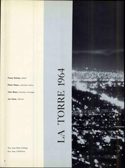Page 8, 1964 Edition, San Jose State College - La Torre Yearbook (San Jose, CA) online yearbook collection