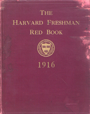 Page 1, 1916 Edition, Harvard University - Red Book Yearbook (Cambridge, MA) online yearbook collection