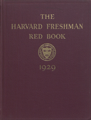 Page 1, 1929 Edition, Harvard University - Red Book Yearbook (Cambridge, MA) online yearbook collection