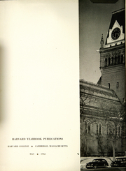 Page 8, 1952 Edition, Harvard University - Red Book Yearbook (Cambridge, MA) online yearbook collection