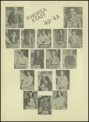 Page 8, 1943 Edition, Great Bend High School - Rhorea Yearbook (Great Bend, KS) online yearbook collection