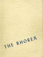 Page 1, 1945 Edition, Great Bend High School - Rhorea Yearbook (Great Bend, KS) online yearbook collection