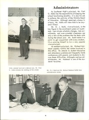 Page 10, 1959 Edition, Southeast High School - Hoofbeats Yearbook (Wichita, KS) online yearbook collection