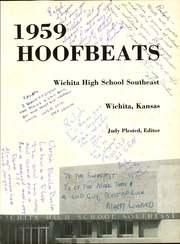 Page 5, 1959 Edition, Southeast High School - Hoofbeats Yearbook (Wichita, KS) online yearbook collection