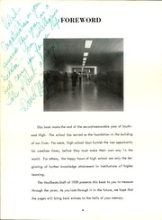 Page 8, 1959 Edition, Southeast High School - Hoofbeats Yearbook (Wichita, KS) online yearbook collection