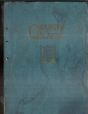 1924 Edition, Clay County Community High School - Orange and Black Yearbook (Clay Center, KS)