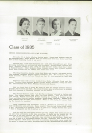 Page 17, 1935 Edition, Clay County Community High School - Orange and Black Yearbook (Clay Center, KS) online yearbook collection