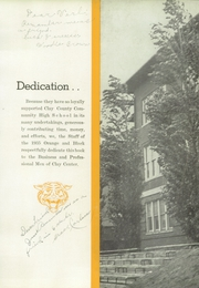 Page 9, 1935 Edition, Clay County Community High School - Orange and Black Yearbook (Clay Center, KS) online yearbook collection