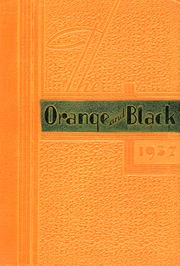 1937 Edition, Clay County Community High School - Orange and Black Yearbook (Clay Center, KS)