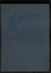 1929 Edition, Wyandotte High School - Quiverian Yearbook (Kansas City, KS)